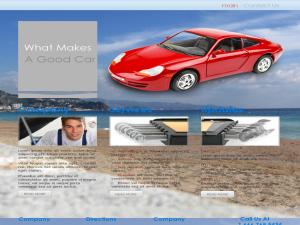 Cars Web Templates